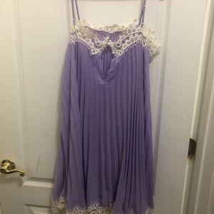 Moulinette Soeurs Dresses - Moulinette Soeurs. Light purple with white laces